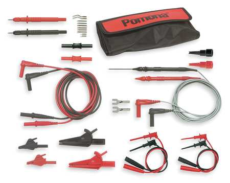 Test Lead Kit, 47-1/4 In. L