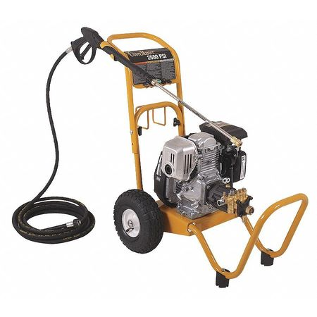 2500 psi 2.3 gpm Cold Water Gas Pressure Washer