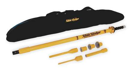 Slide Hammer w/Pin Driver, 13Lb, 46In