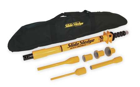 Slide Hammer Sledge, 14 Lb, 30 In, W/6 Tips