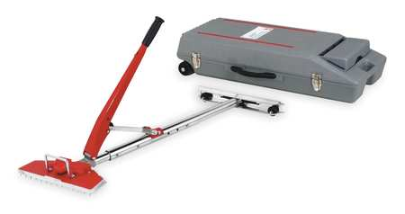 Power-Lok Stretcher, 23 1/2 Ft Cap, W/Case