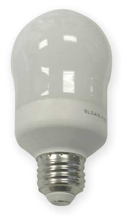 GE LIGHTING 11W,  A19 Screw-In Fluorescent Light Bulb