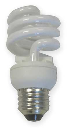 GE LIGHTING 10W,  T2 Screw-In Fluorescent Light Bulb