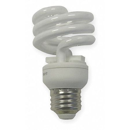 GE LIGHTING 13W,  T2 Screw-In Fluorescent Light Bulb