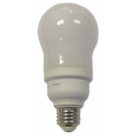GE LIGHTING 15W,  A19 Screw-In Fluorescent Light Bulb