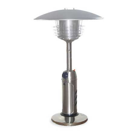 Patio Heater, LP, SS, 5 ft. Radius