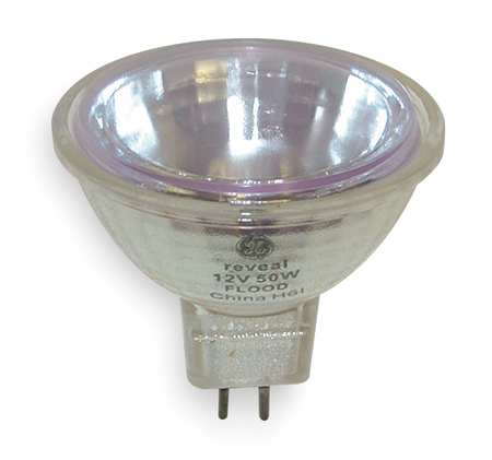 GE LIGHTING 50W,  MR16 Halogen Light Bulb