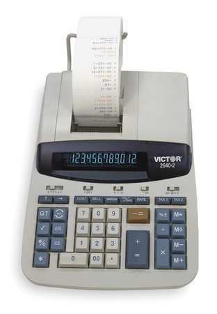 Desktop Calculator, Ribbon, 12 Digits