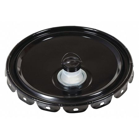 Steel Pail Lid,  Black,  For Use With 1TMH7