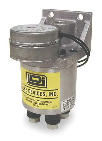 Precision Metering Pump, Motor, 4 Feed