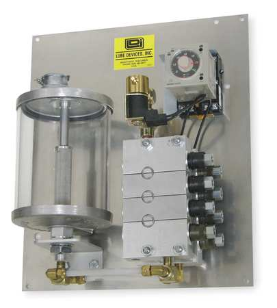 Precision Metering System, Grease, 6 Feed