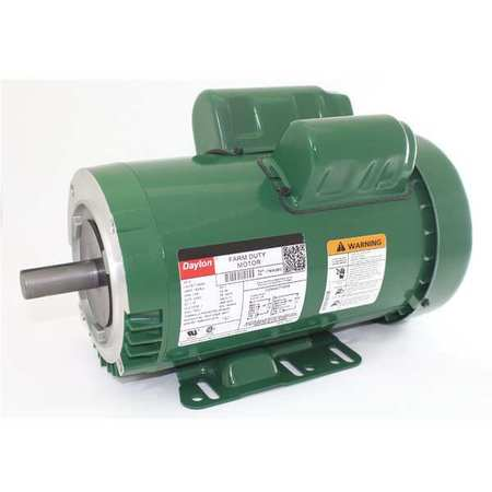 Farm Duty Mtr, Cap Start, TEFC, 2HP, 1725rpm