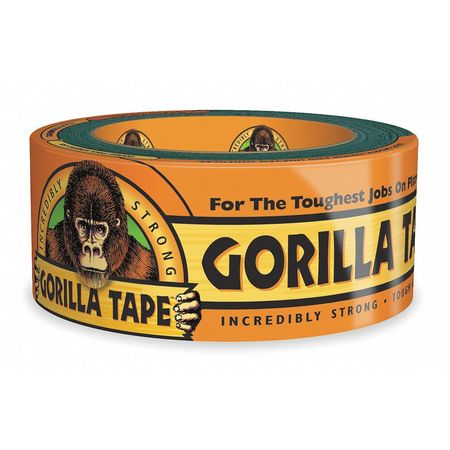Duct Tape, 1.88 in. x 12 yd., 17 mil, Black