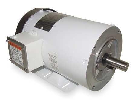 Washdown Motor, 3 Ph, TEFC, 2 HP, 1745 rpm