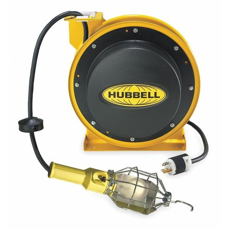 Incandescent Extension Cord Reel with Hand Lamp