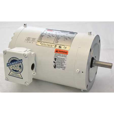 Dayton Washdown Motor 3 Ph Tenv 1 Hp 3520 Rpm 1tta4bg