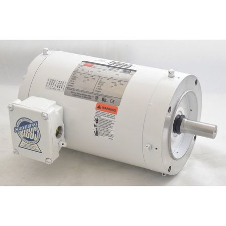 Washdown Mtr, 3 Ph, TENV, 1-1/2 HP, 1740 rpm
