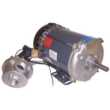 Hazardous Loc Mtr, 3 Ph, TEFC, 1/3 HP, T3B