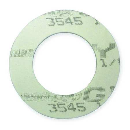 Gasket, Ring, 6 In, PTFE, White