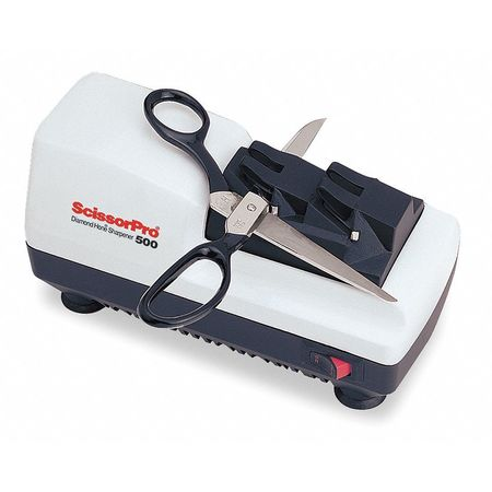 Electric Scissor Sharpener, 2 Stage, 120V