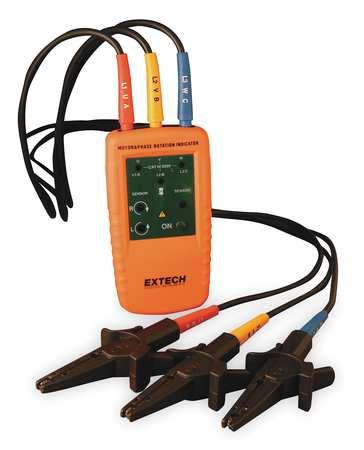 Phase & Motor Rotation Tester, 40-600VAC