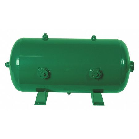 Air Tank, Stationary, 175 PSI, 10 Gal, Horiz