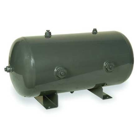 Air Tank, Stationary, 175 PSI, 30 Gal, Horiz