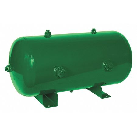 Air Tank, Stationary, 175 PSI, 20 Gal, Horiz