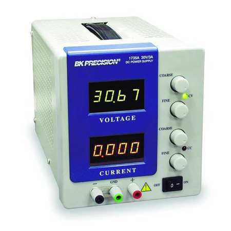 DC Power Supply, 0-30 Volts, 0-3 Amps