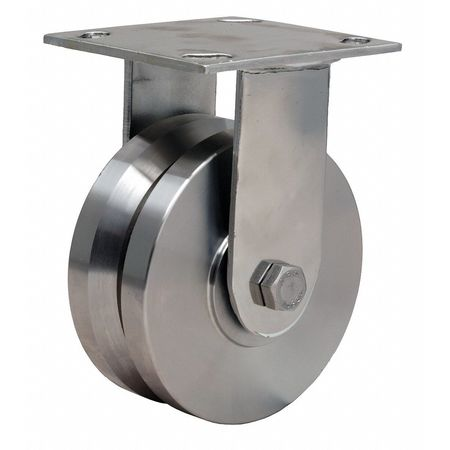 Rigid Caster, SS, 5in, 800 lb.