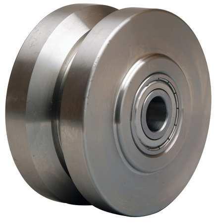 Caster Wheel, Steel, 4 in., 850 lb.