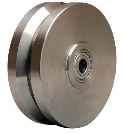 Caster Wheel, Steel, 6 in., 1200 lb.