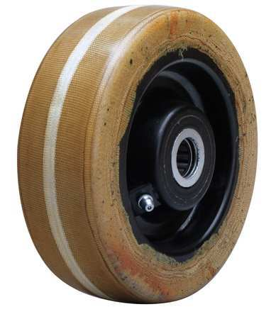 Caster Wheel, Phenolic, 6 in., 1500 lb.
