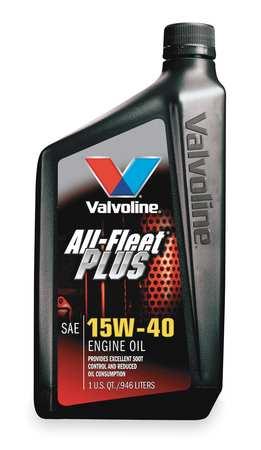 Valvoline,  All Fleet Plus,  15W-40,  1 Qt