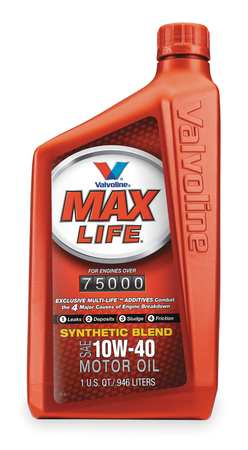 Maxlife,  Synthetic Blend,  10W-40,  1 Qt