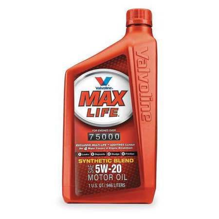 Valvoline Maxlife Synthetic Blend 5w 20 1 Qt 609506