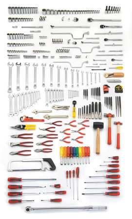 Master Tool Set, Techncian, SAE, 334-Pieces