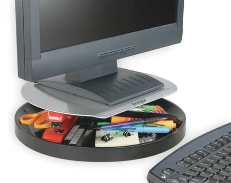 Plastic Spin Monitor Stand,  Adjustable Height