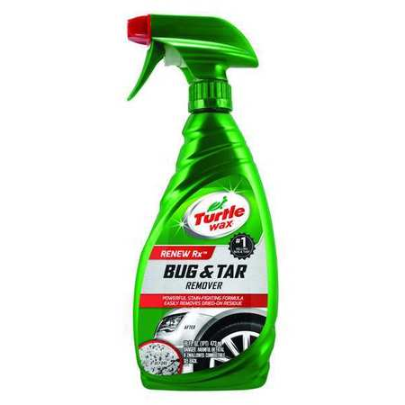 Bug/Tar Remover, 16 Oz, Bottle, Clear
