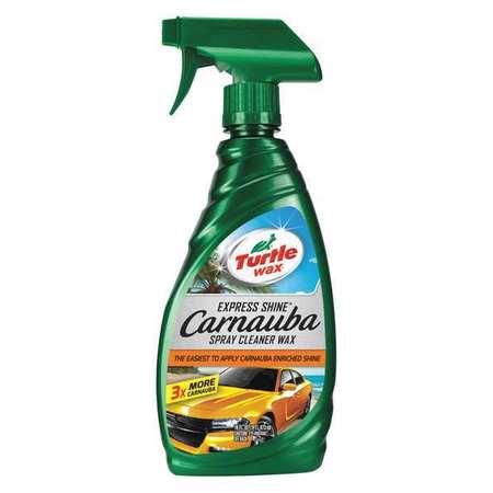 Car Wax, Spray, 16 Oz, Bottle, Clear