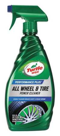 Wheel Cleaner, 23 oz., Bottle, Clear