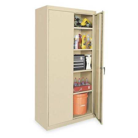 Storage Cabinet, Sand, 78 In H, 36 In W