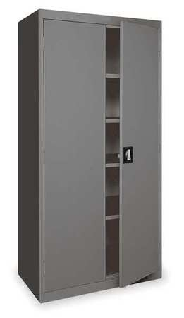 Storage Cabinet, Charcoal, 36 In W