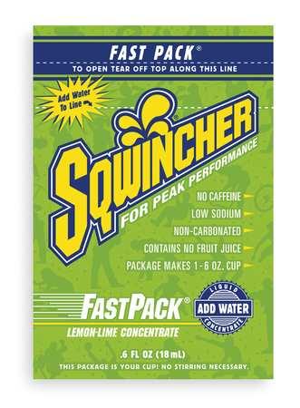 Sports Drink Liquid Concentrate 0.6 oz,  Lemon-Lime,  Pk50