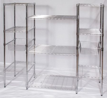 Utility Wire Storage Unit, 9 Shelves