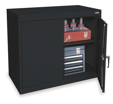 Storage Cabinet, H30, W36, Blk