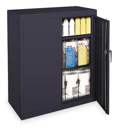 1UFC4 Storage Cabinet, Black, 42 In H, 36 In W