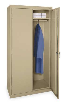 Wardrobe Storage Cabinet, 72 In H, 36 In W
