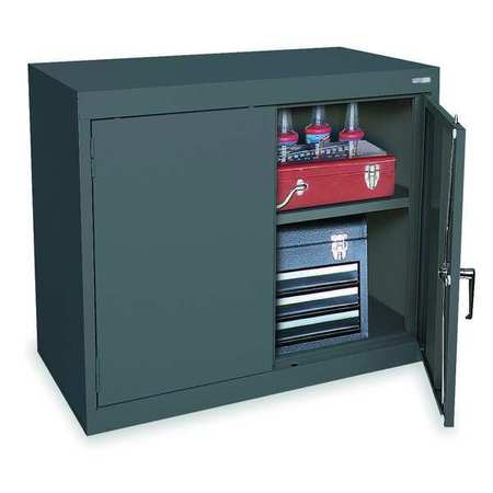 1UFB8 Storage Cabinet, Gray, 30 In H, 36 In W