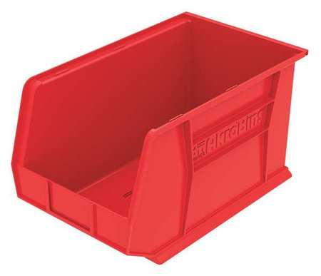Hang/Stack Bin, H 10,  W 11, D 18, Red